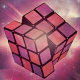 miniature Affiche vintage Rubik's Cube