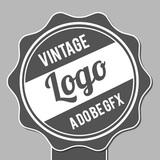 miniature Badge vintage