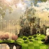 miniature Château magique