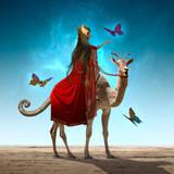 miniature Le chèvre chameau