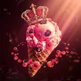 miniature Cornet de glace royale