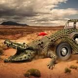 miniature Crocomobile