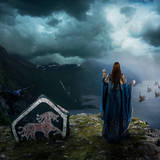 miniature Le départ des Vikings