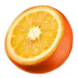 miniature Dessiner une orange