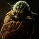 miniature Dessiner Yoda