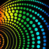 miniature Effet disco multicolore