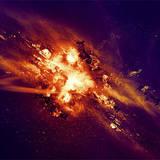 miniature Explosion cosmique