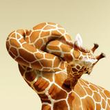 miniature Girafe tête de noeud