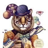 miniature L'homme tigre