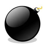 miniature Icône bombe ronde
