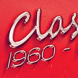 miniature Logo chromé rétro 70s