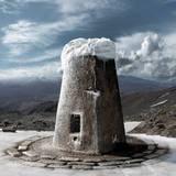 miniature Pierre des neiges