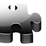 miniature Mise en relief d'une pièce de puzzle en 3D