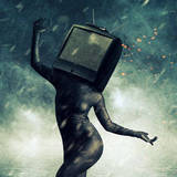miniature Téléviseur humanoïde
