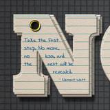 miniature Texte bloc note