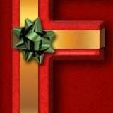miniature Texte paquet cadeau