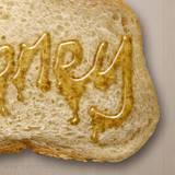 miniature Texte sur une tartine au miel