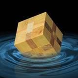 miniature Vagues dans l'eau