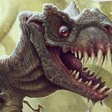 miniature Dinosaure affamé
