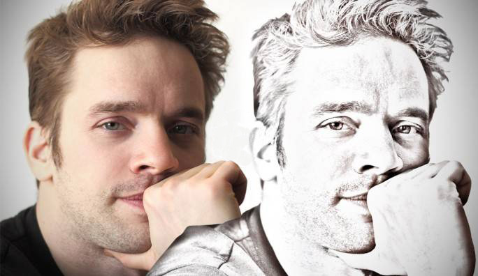 Transformer un portrait en dessin
