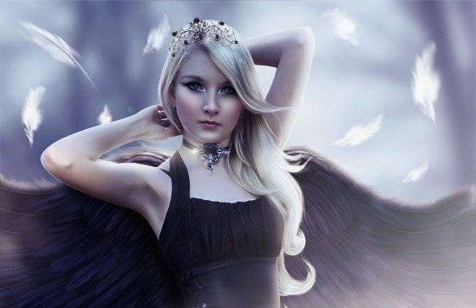 Ange blonde