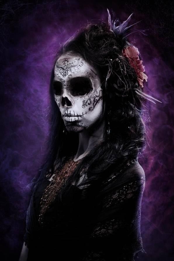 Portrait tête de mort