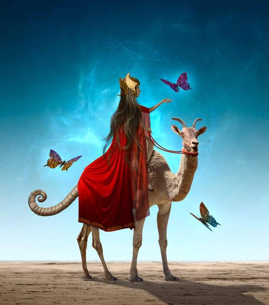 Le chèvre chameau