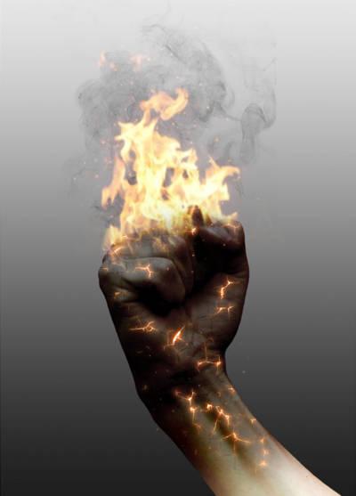 Poing de feu