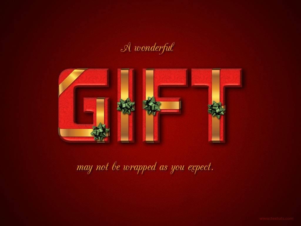 Texte paquet cadeau
