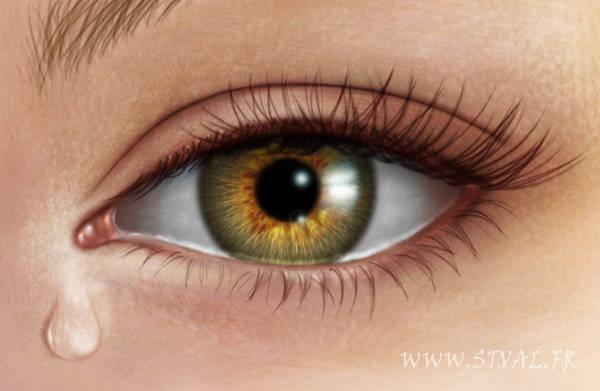 Dessiner un oeil humain photoréaliste