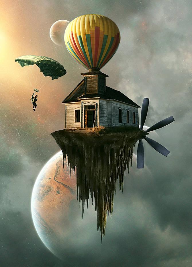 Maison montgolfière