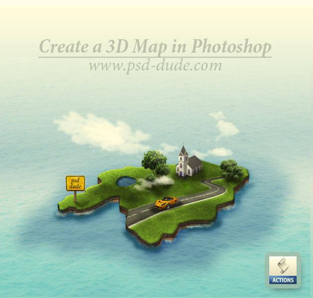 Dessiner une carte en 3D