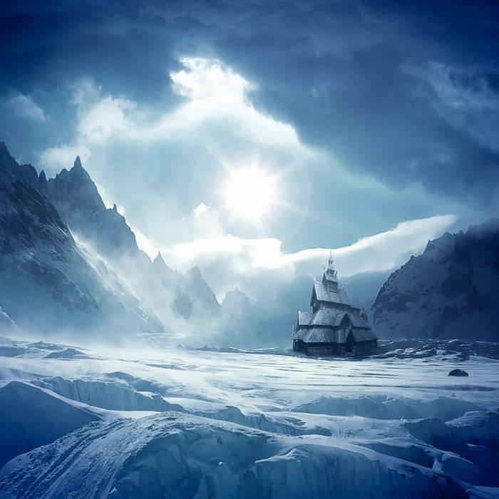 Vallée de glace