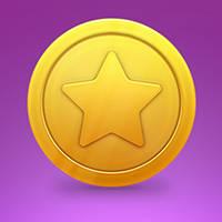 """Créer une pièce d'or """"étoile"""""""
