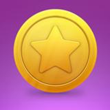 """miniature Créer une pièce d'or """"étoile"""""""