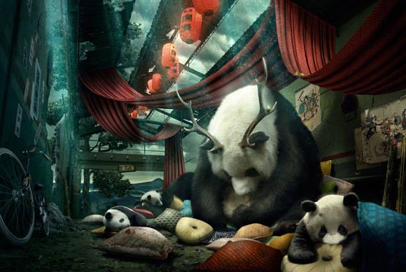 Dessiner un panda