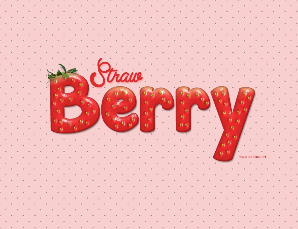 Texte fraise