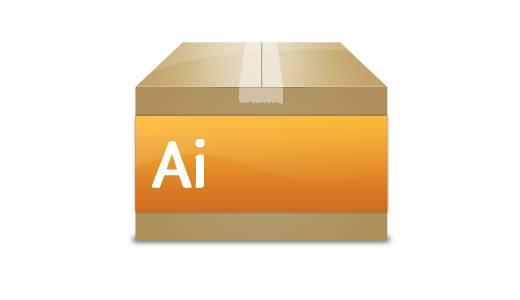Créez une boite en carton style Web 2.0