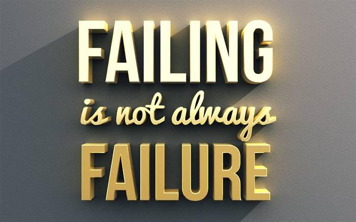 Texte 3D failing & failure
