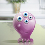 miniature Monstre globuleux