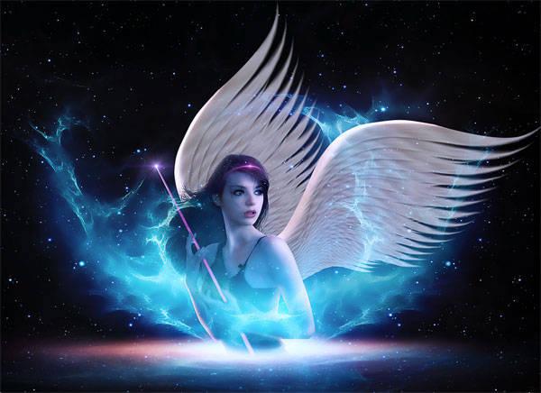Ange de l'espace