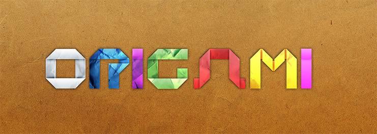 Lettres en Origami (2ème)