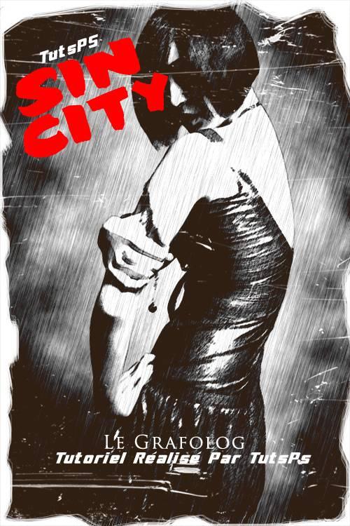 Effet Sin City sur une photo