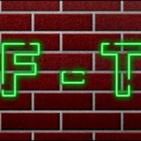 miniature Texte néon sur un mur
