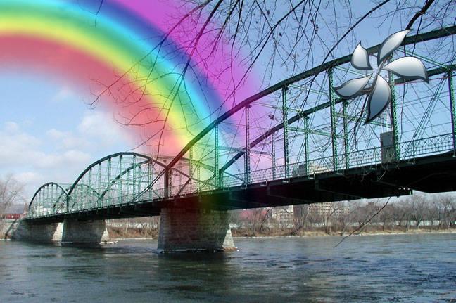 Créer un arc en ciel avec Photoshop