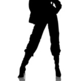 miniature Effet silhouette sur une photo
