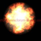 miniature Dessiner une boule de feu