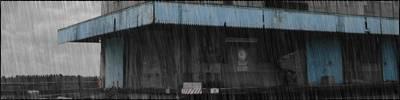 Effet de pluie