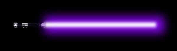 Sabre laser avec Photoshop