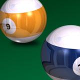 miniature Boule de billard